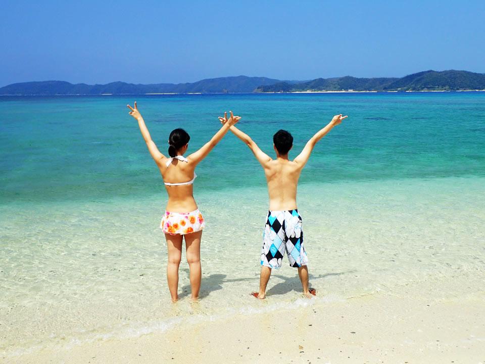 奄美大島 マリンスポーツ 海遊びコース